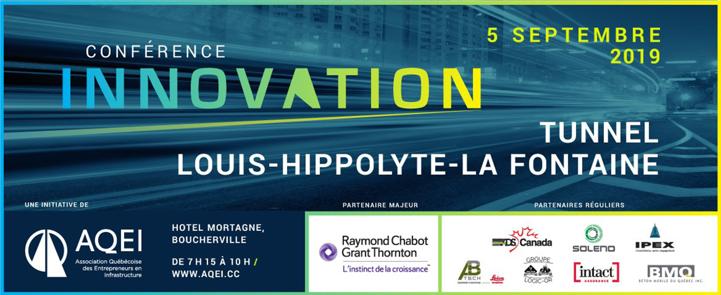 CONFÉRENCE INNOVATION : TUNNEL LOUIS-HIPPOLYTE-LAFONTAINE